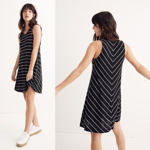 Madewell Striped Highpoint Tank Dress